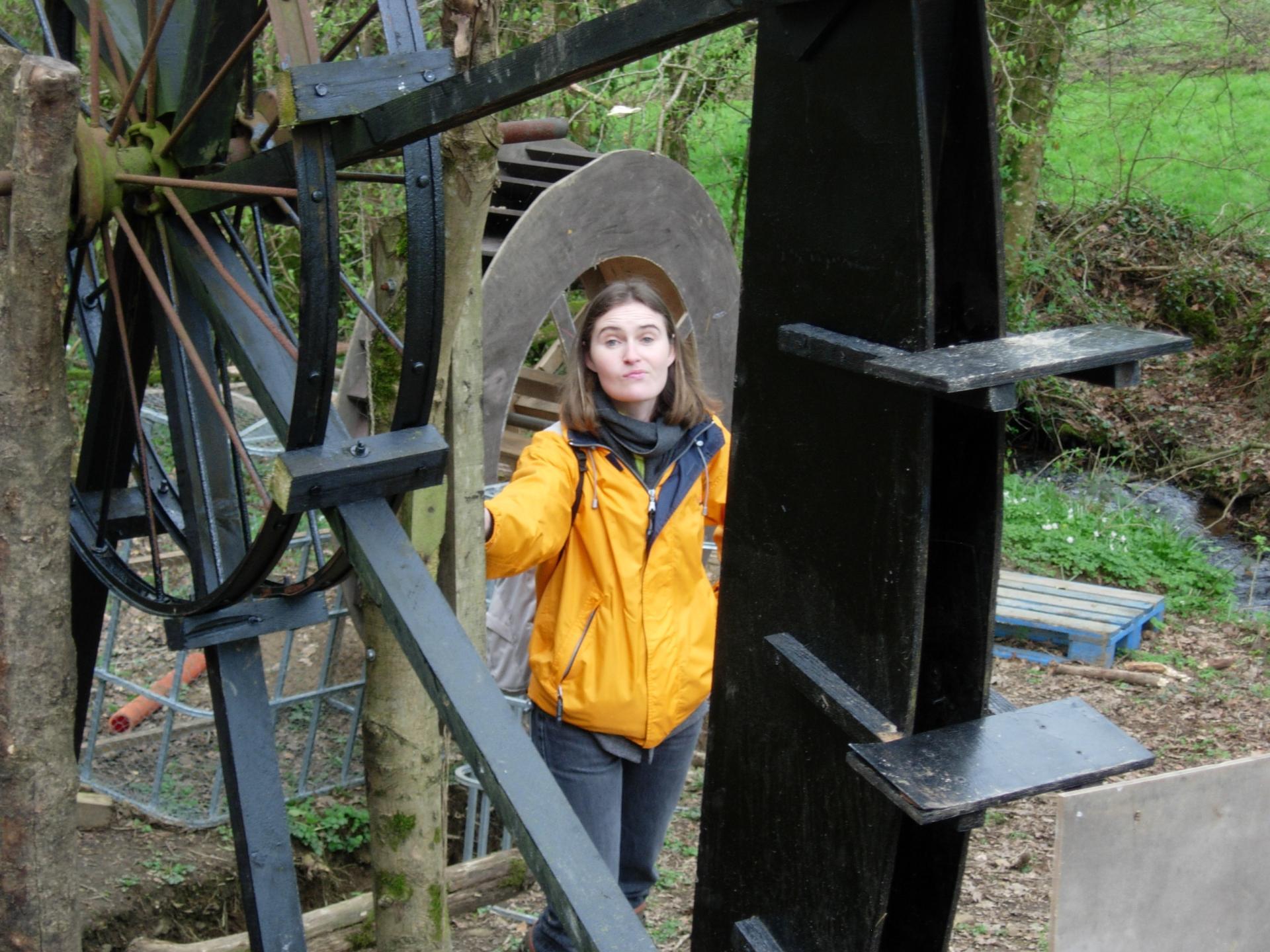 une Maîtresse étonnée par le Moulin pédagogique